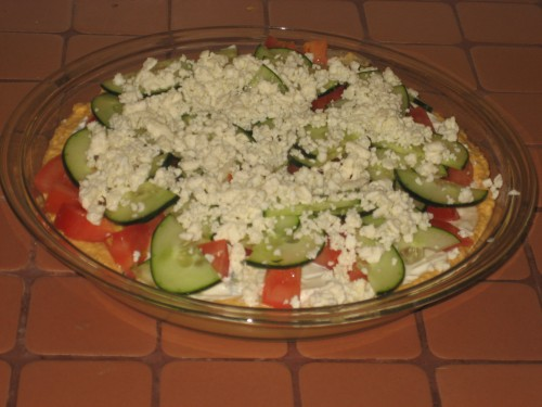 Greek 5 Layer Dip